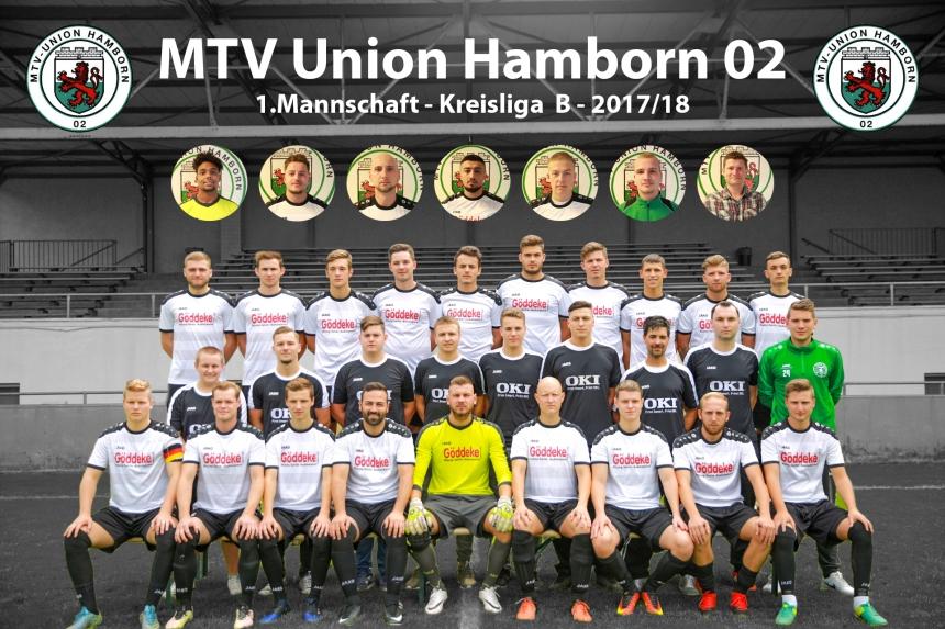 1.Mannschaft 2017/18