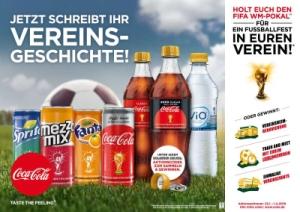Coca Cola Vereinsgeschichte: Unterstütze unseren Verein! Jeder Deckel zählt!